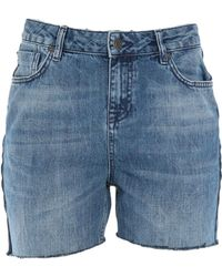 SELECTED - Denim Shorts - Lyst