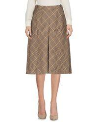 Balenciaga - Knee Length Skirt - Lyst