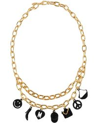 Moschino - Necklace - Lyst