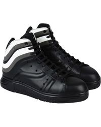 Emporio Armani - High-tops & Trainers - Lyst