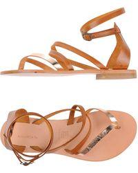 Chaussures - Orteil Sandales Post Annarita N. EH0Cc7h
