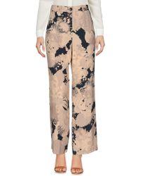 Dries Van Noten - - Reefs Print Cropped Trousers - Women - Viscose - 40 - Lyst
