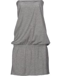 Leetha - Short Dress - Lyst