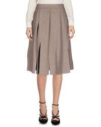 Vivienne Westwood Anglomania - Knee Length Skirt - Lyst