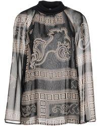 a3203211cda33 Lyst - Women s Versace Blouses On Sale
