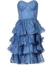 Alice + Olivia - Short Dress - Lyst