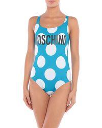 Moschino Maillot une pièce - Bleu
