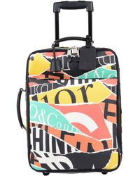 Moschino - Wheeled Luggage - Lyst