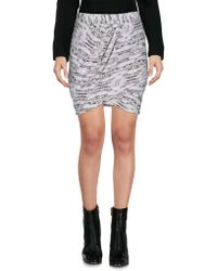 Dagmar - Mini Skirt - Lyst