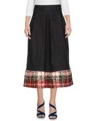 Ultrachic - Denim Skirts - Lyst