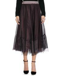 Motel - 3/4 Length Skirt - Lyst