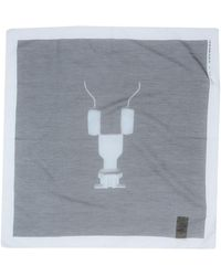 d7f1f54f080 Men s DRKSHDW by Rick Owens Scarves and handkerchiefs