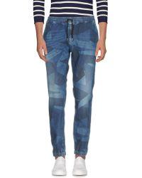Hydrogen - Denim Trousers - Lyst