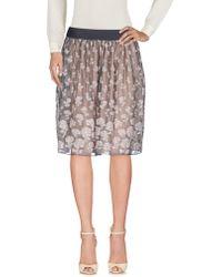 Armani - Knee Length Skirt - Lyst