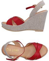 EVA LỌPEZ - Sandals - Lyst