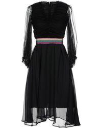 Paola Frani - Knee-length Dress - Lyst