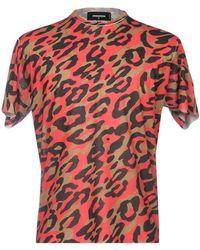 DSquared² - T-shirt - Lyst