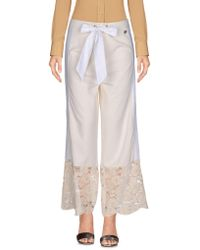 Twin Set - Casual Trouser - Lyst