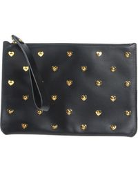 Sophie Hulme - Talbot Studded Leather Pouch - Lyst