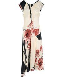 Manila Grace - 3/4 Length Dress - Lyst