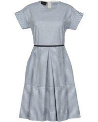 Les Copains - Short Dress - Lyst