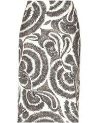 Dries Van Noten - 3/4 Length Skirt - Lyst
