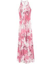 Trussardi - Long Dress - Lyst