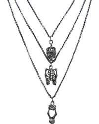 John Richmond - Necklace - Lyst