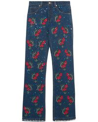 Ashish - Denim Trousers - Lyst