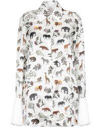 Victoria, Victoria Beckham - Shirt - Lyst