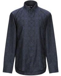 Versace Camisa - Azul