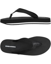 DSquared² - Toe Strap Sandal - Lyst
