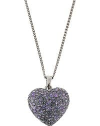 Roberto Cavalli Necklace - Purple