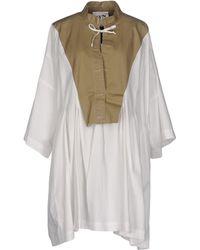 AVN - Short Dress - Lyst