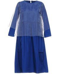 Zucca - Short Dress - Lyst