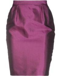 Alberto Biani - Knee Length Skirts - Lyst