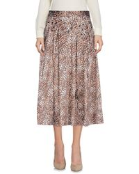 Relish - 3/4 Length Skirt - Lyst