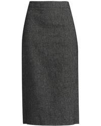 DKNY - 3/4 Length Skirt - Lyst