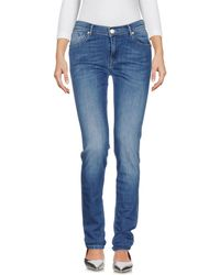 0/zero Construction - Denim Trousers - Lyst