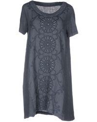 120% Lino | Short Dresses | Lyst