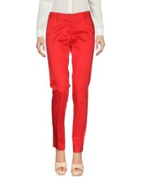 Love Moschino - Casual Pants - Lyst