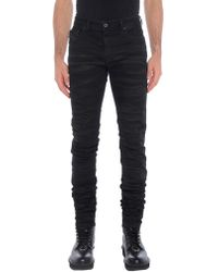 Diesel Black Gold - Denim Trousers - Lyst