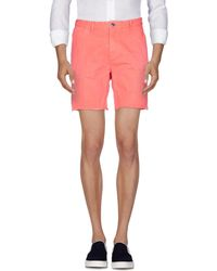 Scotch & Soda - Denim Bermudas - Lyst