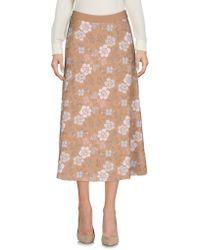 Tak.ori - 3/4 Length Skirts - Lyst