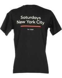 SATURDAYS NEW YORK CITY - T-shirt - Lyst