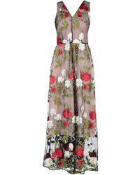 Silvian Heach - Long Dress - Lyst