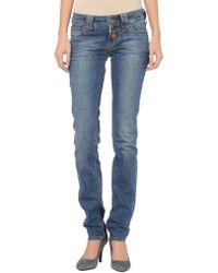 John Galliano - Denim Trousers - Lyst