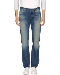 Jean Shop - Denim Trousers - Lyst