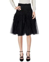 Roccobarocco - Knee Length Skirt - Lyst