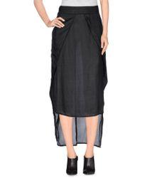 Barbara I Gongini - 3/4 Length Skirts - Lyst